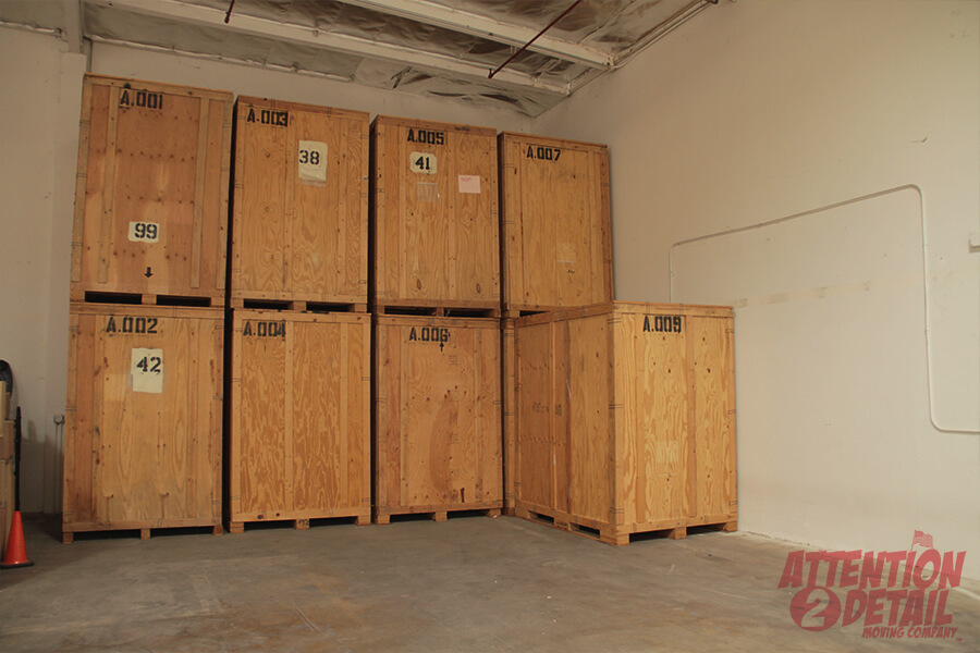 Consider storage options when you move
